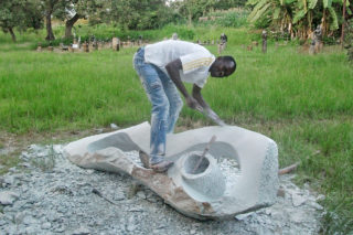 Stone sculptures for sale by Agrippa Tirigu