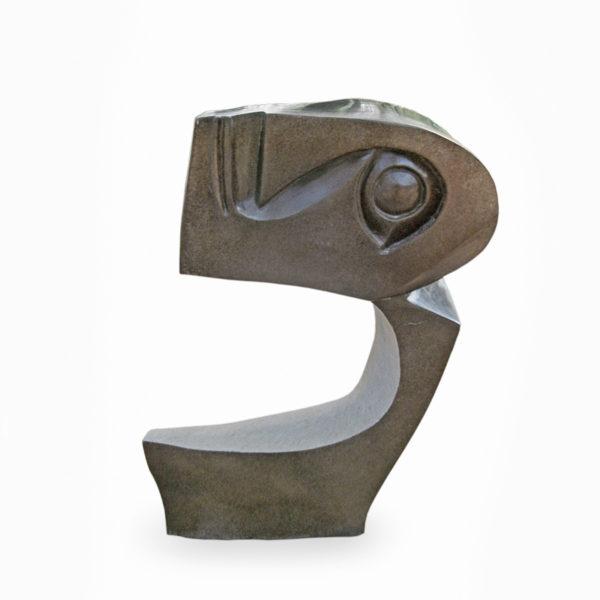 Stone sculpture by Agrippa Tirugu